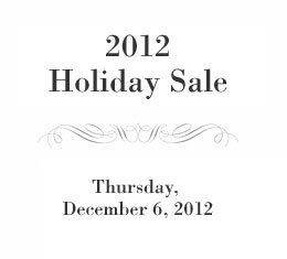 2010 Holiday Sale